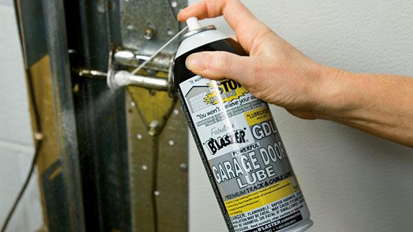 garage door lubrication