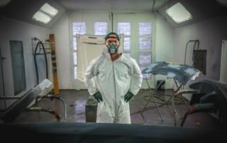 Lubricating garage door